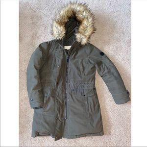 Micheal Kors extremely warm hood jacket coat